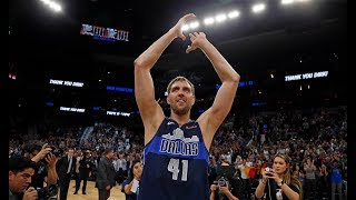Dirk Nowitzki BEST Plays From FINAL NBA Season