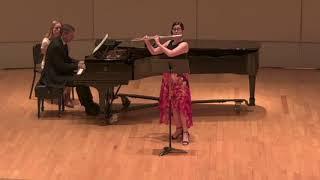 Sonata for Flute & Piano by Melanie Bonis