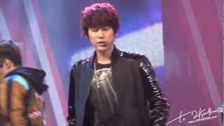130126 Wuhan Hubei TV Recording - &39;Break Down&39; KYUHYUN Focus