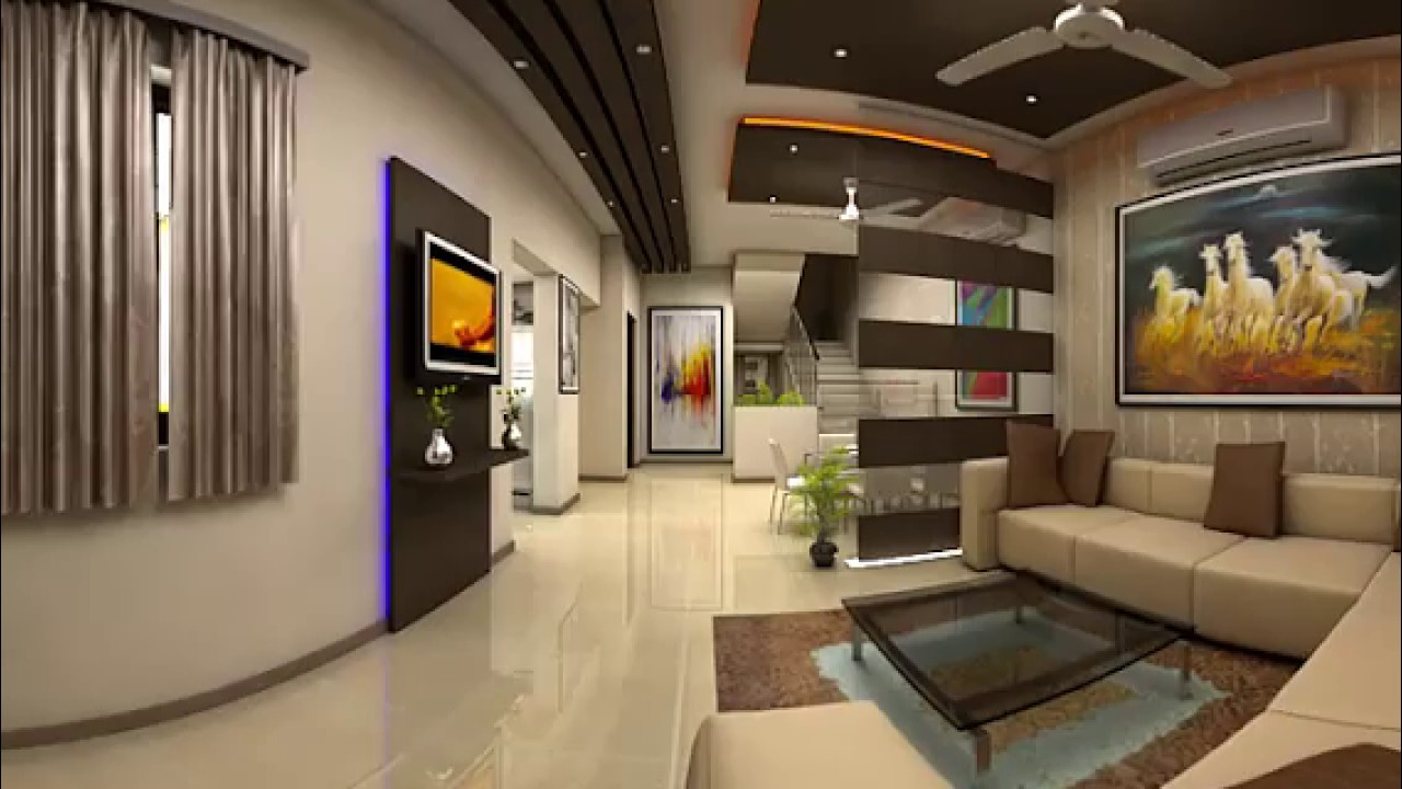 Interactive 360 degree panoramic virtual reality Interior 3D Animation -  Kems Studio - YouTube