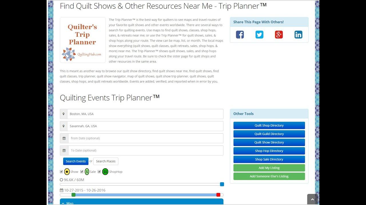 foto de Trip Planner Events Tour - YouTube