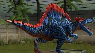 Jurassic World Game Mobile #14:  SpinoSaurus siêu đẹp