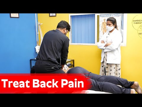 Treat Back Pain - Fix Your Lower Back Pain for Good | Dr. Sachin - Physiotherapist