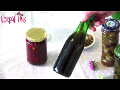 DIY Herbal Tinctures - Learn how to make a herbal tincture at home-