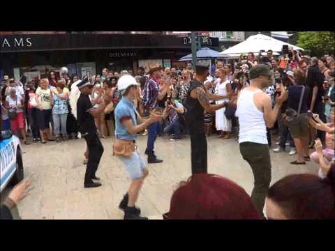 The Bourne Free Flash Mob - Bournemouth 2014
