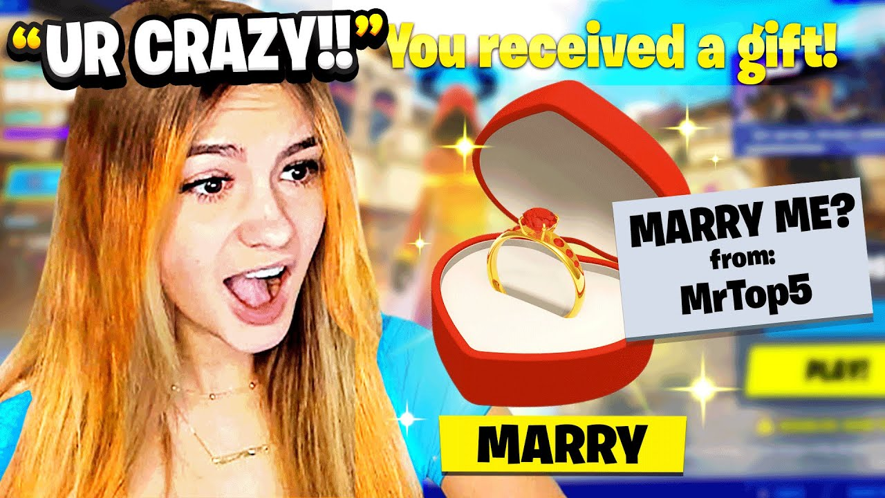 Download Will You Marry Me, Fortnite Girlfriend?