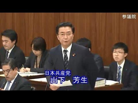 山下芳生 日本共産党 総務委員会 参議院 2019 02 07