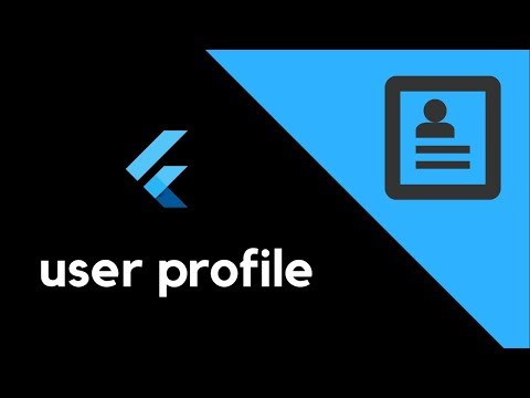 Flutter - Integrating a profile screen in your app