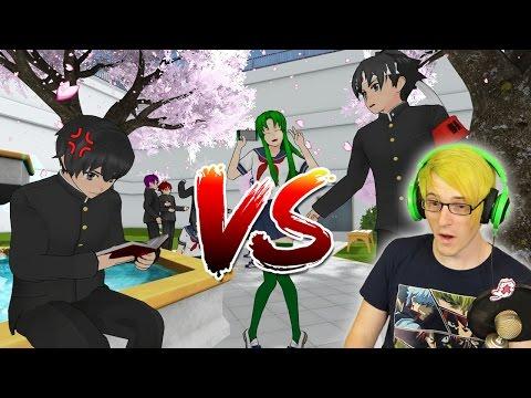 BUDO VS TARO RAP BATTLE!? | Epic Rap Battles of Akademi (Reaction)