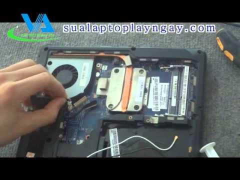 Hướng dẫn tự tháo lắp máy Keyboard – Bàn phím laptop LENOVO G460 G465 G465A Series