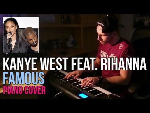 Kanye West feat. Rihanna - Famous (Piano Cover by Marijan)