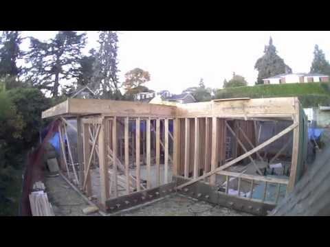Madrona Passive House Timelapse
