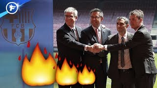 La direction du Barça prend feu | Revue de presse