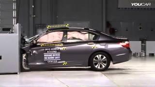 Краш тест новой Хонда Аккорд 2013