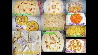🌃12 Special Recipes for EID 🌃बनाये इस ईद केमे कुछ खास डिशे