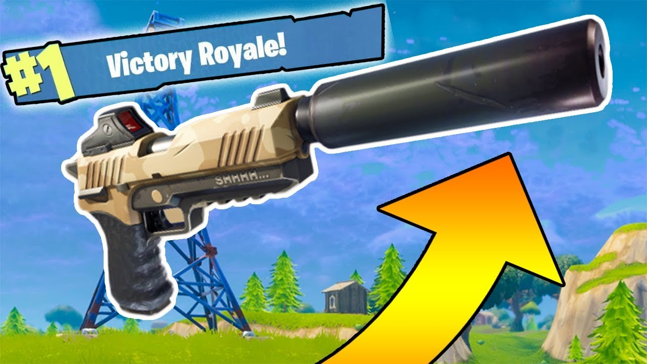 silenced pistols only new fortnite weapons update