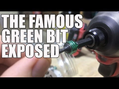 The Famous Green Driver Bit - Hitachi 115003 No.2 Phillips Magnetic Driver