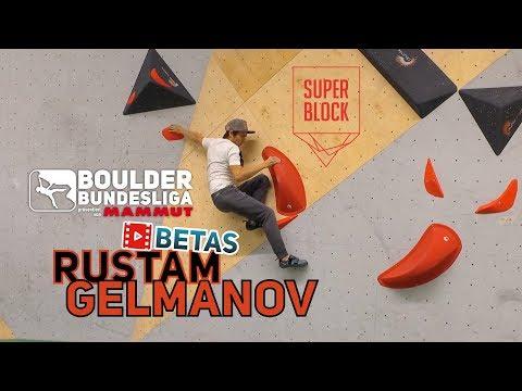 Super Boulder im Superblock mit Rustam Gelmanov