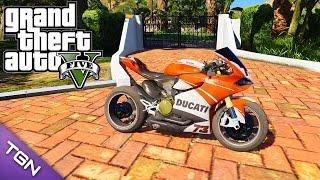GTA V - Ducati 1199 Panigale by Imtaj (Download)