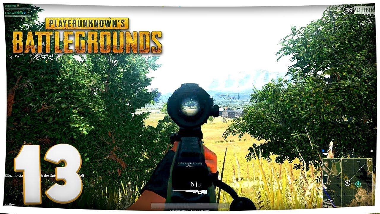 Playerunknowns Battlegrounds   F F E Ae M Mit Der Awm Duo German Fullhd