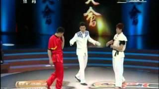 wushu fight TAIQI WuLin vs XINGYI ShenWeiWei.mp4