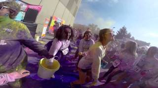 Indiana University's Color the Campus 2014 5k