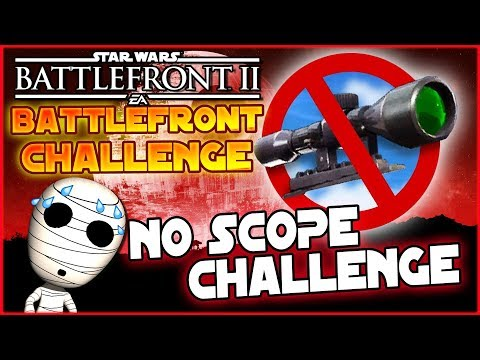 No Scope Challnege! - Loadout Challenge #8 - Star Wars Battlefront 2 Lets Play deutsch Tombie thumbnail