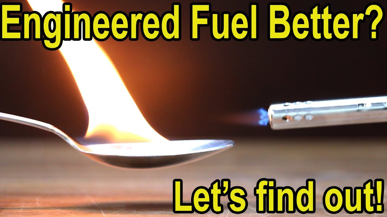 Engineered Fuel better than Pump Gasoline?  Let's find out!