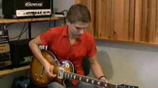 Ben Poole jamming over a blues ballad