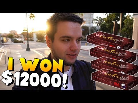 Where have I been? I WON $12000! :D - 10x Cobblestone Souvenir Opening