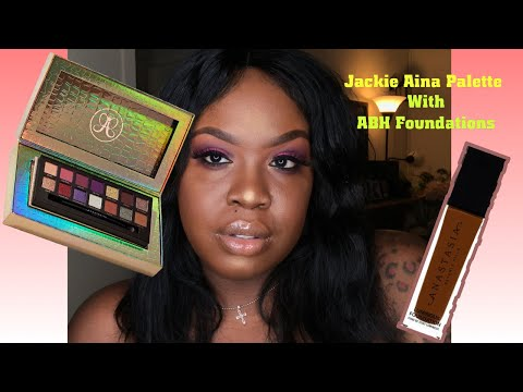 Jackie Aina X ABH Palette & Foundations thumbnail