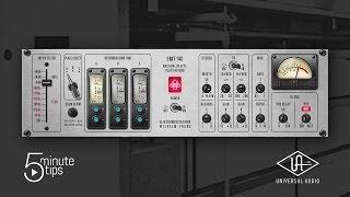 5 minute uad tips emt 140 classic plate reverberator plug in