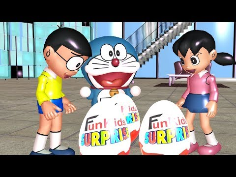 Doraemon Dress As Masked Rider Robots And X Men Wolverine Fun Learning Nursery Rhymes
