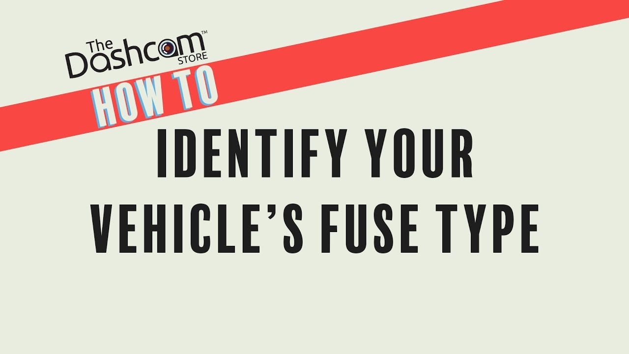 hight resolution of how to identify your vehicle u0027s fuse type when installing a dashcam evo 8 fuse