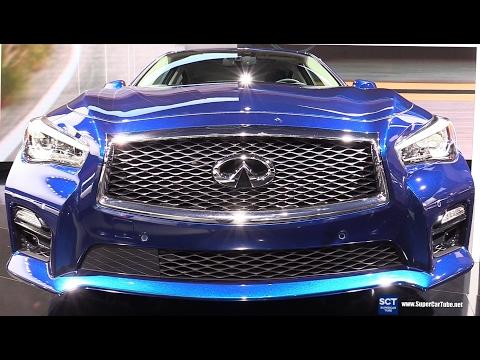 2017 Infiniti Q50 S 3.0t AWD - Exterior and Interior Walkaround - 2017 Detroit Auto Show