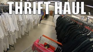 Thrift Store Picking For Resale - Clothing Brands & Originality