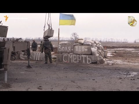 Обстріл блокпоста українських