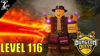 DUNGEON QUEST | LEVEL 116 CANAL RUN! | ROBLOX
