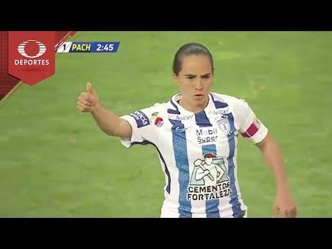 Gol de M. Ocampo | Toluca 0 -1 Pachuca | Liga Femenil - Clausura 2018 | Televisa Deportes