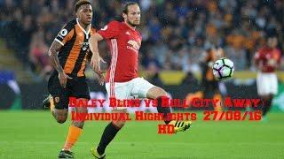 Daley Blind vs Hull City(Away) - Individual Highlights - 27/08/16 - HD | DevvFilmzHD