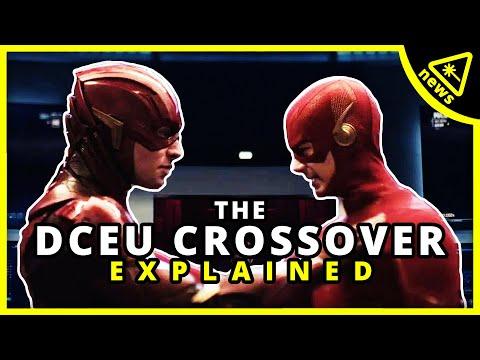 DCEU's Justice League/Arrowverse Crossover Explained! (Nerdist News w/ Dan Casey)