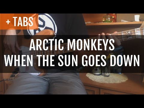 Arctic Monkeys - When The Sun Goes Down (Bass Cover With TABS!)