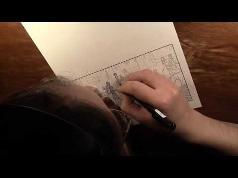 Drawing Cochlea & Eustachia - January 2017