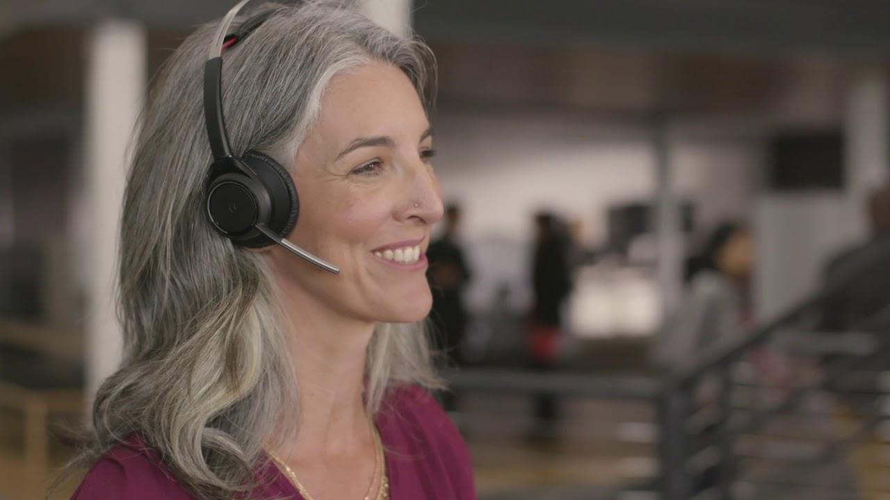 Microsoft Teams Skype For Business Headsets Plantronics
