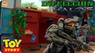 Gambar cover HALO 5 |FUNNY MOMENTS| INFECCION en la habitacion de andy | CUSTOM GAME