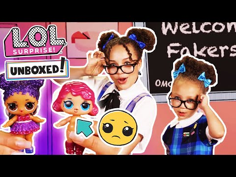 UNBOXED! | LOL Surprise! | Season 2 Episode 6: Fakers 101 Videos For Kids