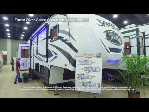 Forest River-Sabre Cobalt 5th Wheel-30RLT