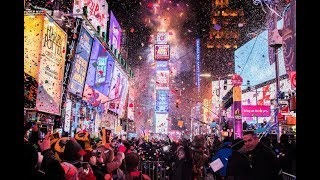 LIVE HD: New Year's Eve 2020 Times Square Ball Drop New York Countdown BTS LIVE