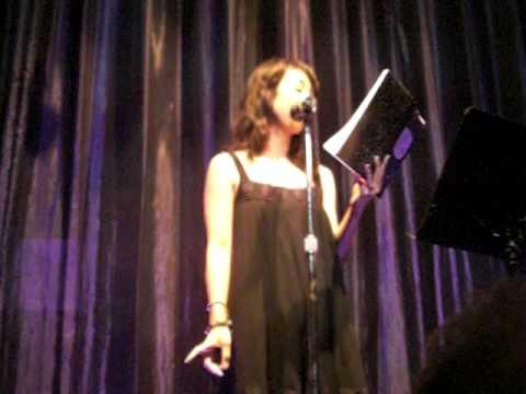 Dr. Horrible's Maurissa Tancharoen at Mortified LA (1 of 2)