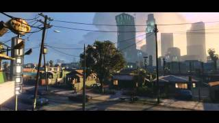 GTA V commercial trailer for (PS 4 and XBOX ONE) .